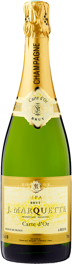 Champagne J. Marquette - Carte D'or Brut