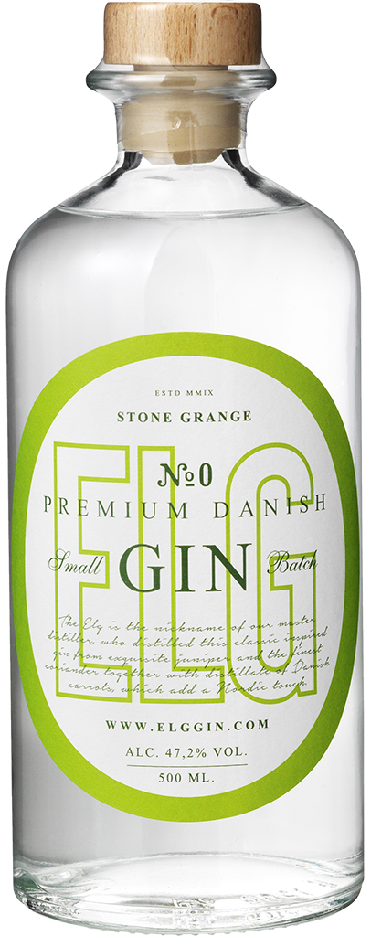 ELG GIN no. 0 - 50 cl. runde